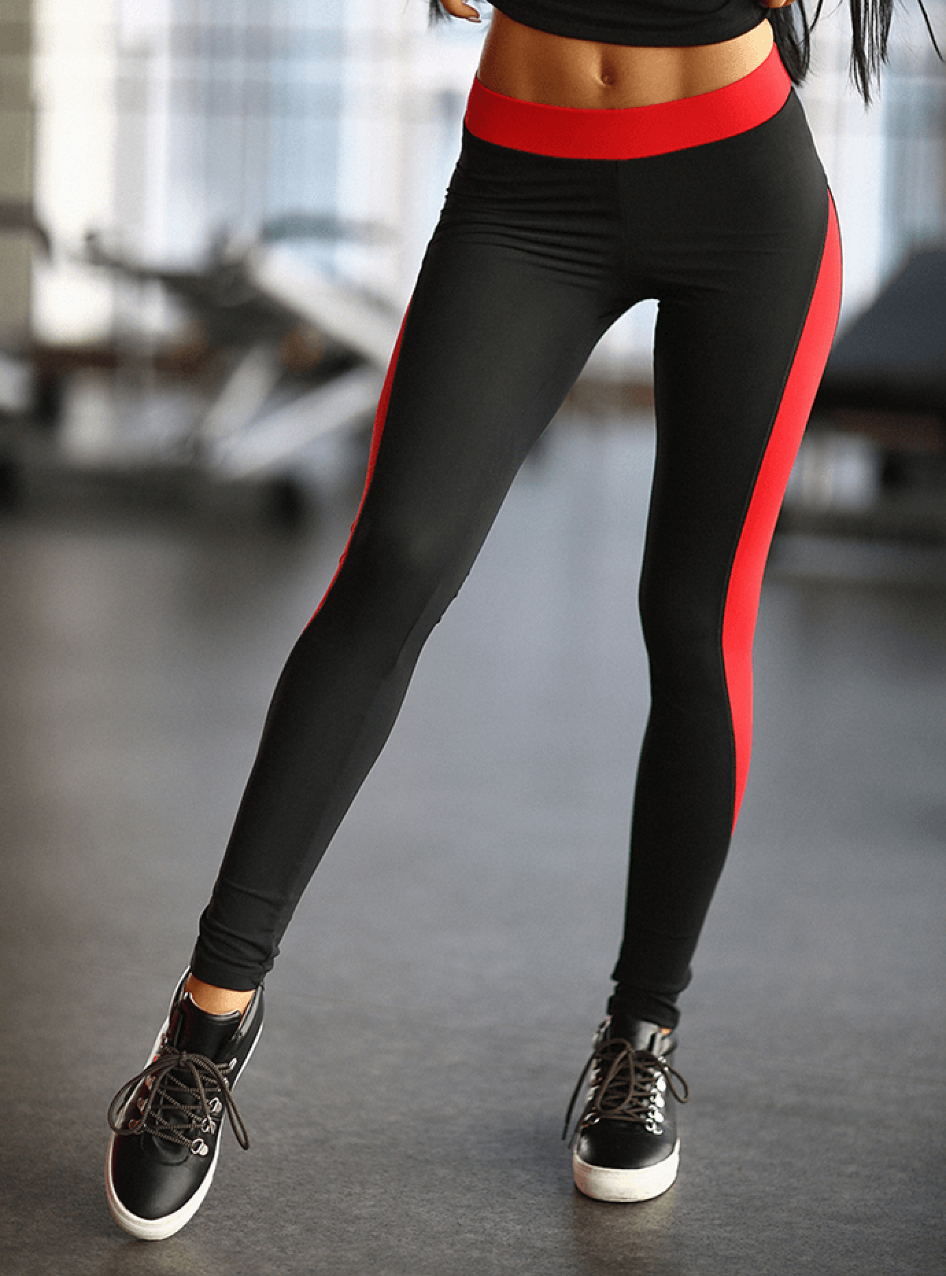 Леггинсы женские Basic Red Серый S (01-F171044): фото - Alster.ua