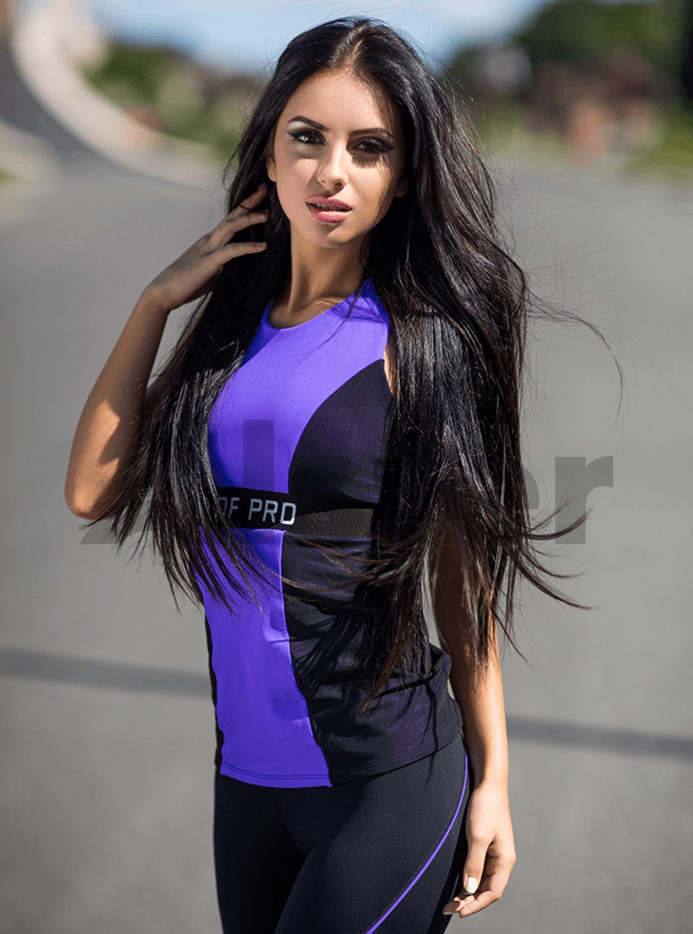Топ женский Pro Violet Серый S (01-F171184): фото - Alster.ua