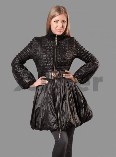 Куртка женская демисезонная оригинальная стёганная