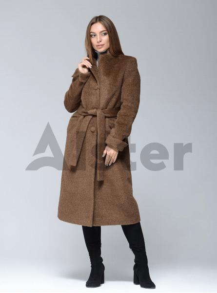 Пальто демісезонне довге з поясом