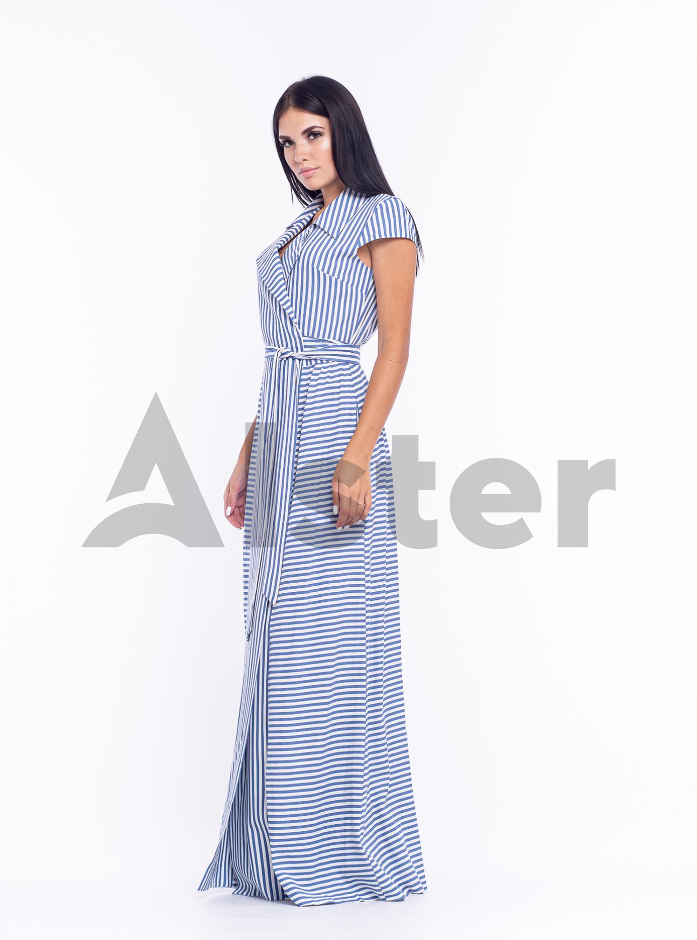 Платье длинное Голубой 44 (04-8987986): фото - Alster.ua