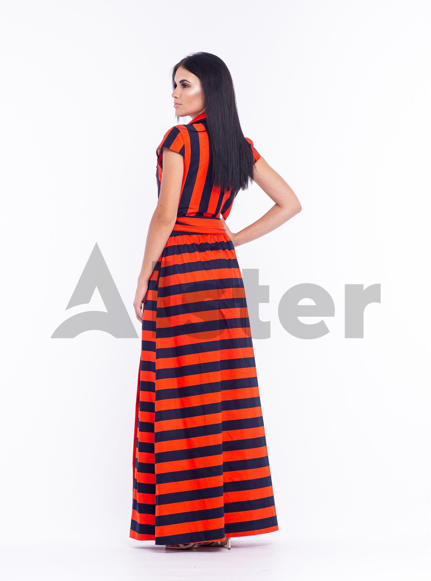 Платье длинное Оранжевый 44 (04-8987984): фото - Alster.ua