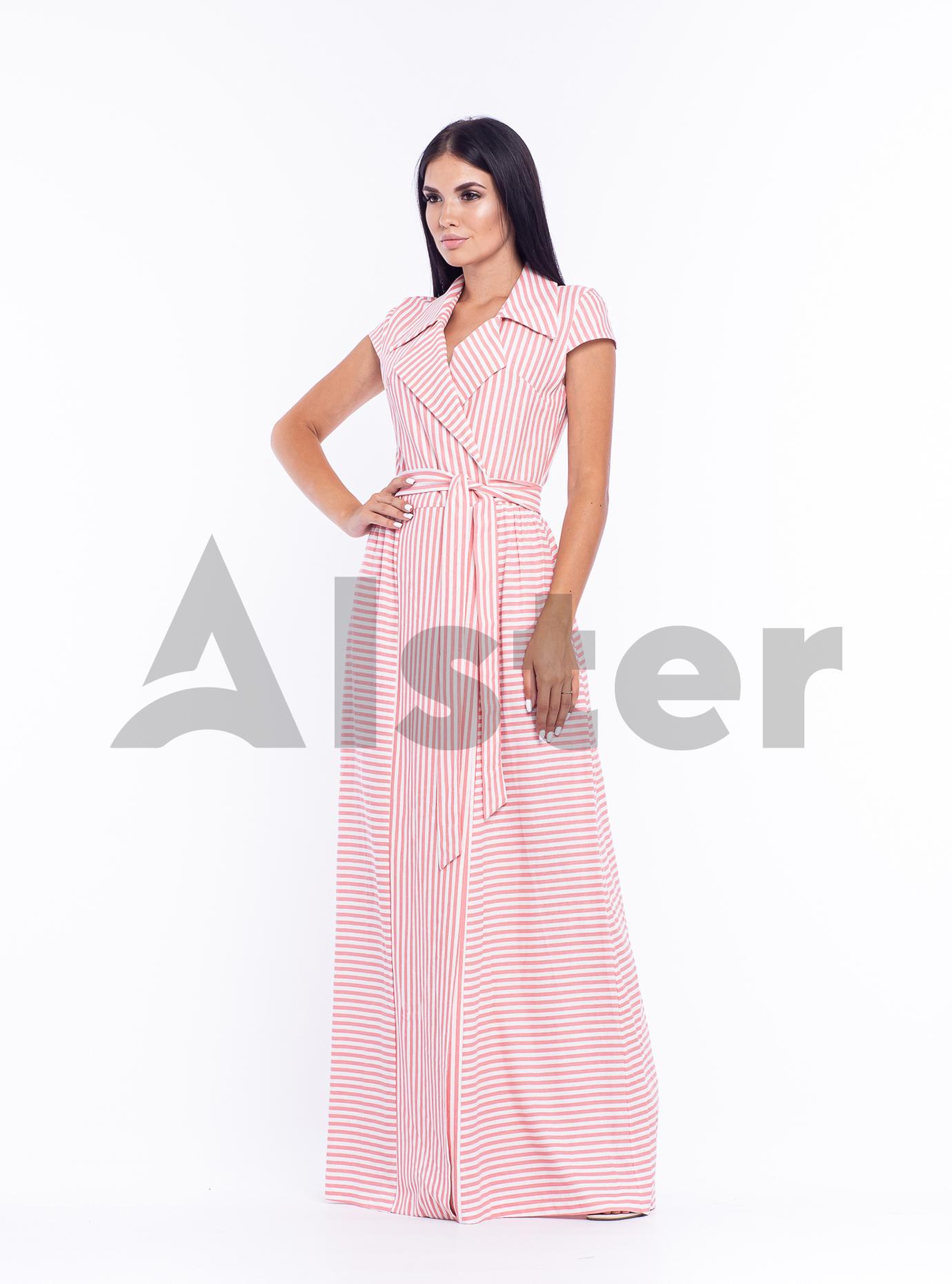 Платье длинное Розовый 44 (04-8987987): фото - Alster.ua