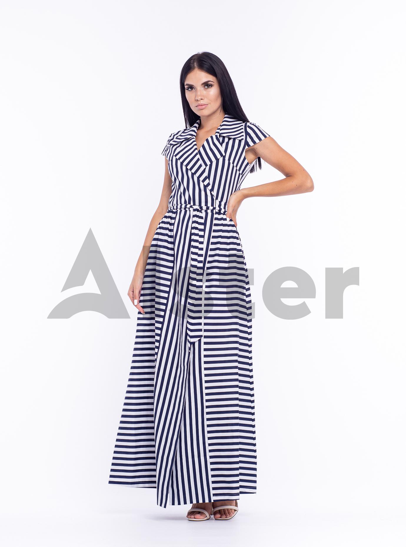 Платье длинное Синий 44 (04-8987988): фото - Alster.ua