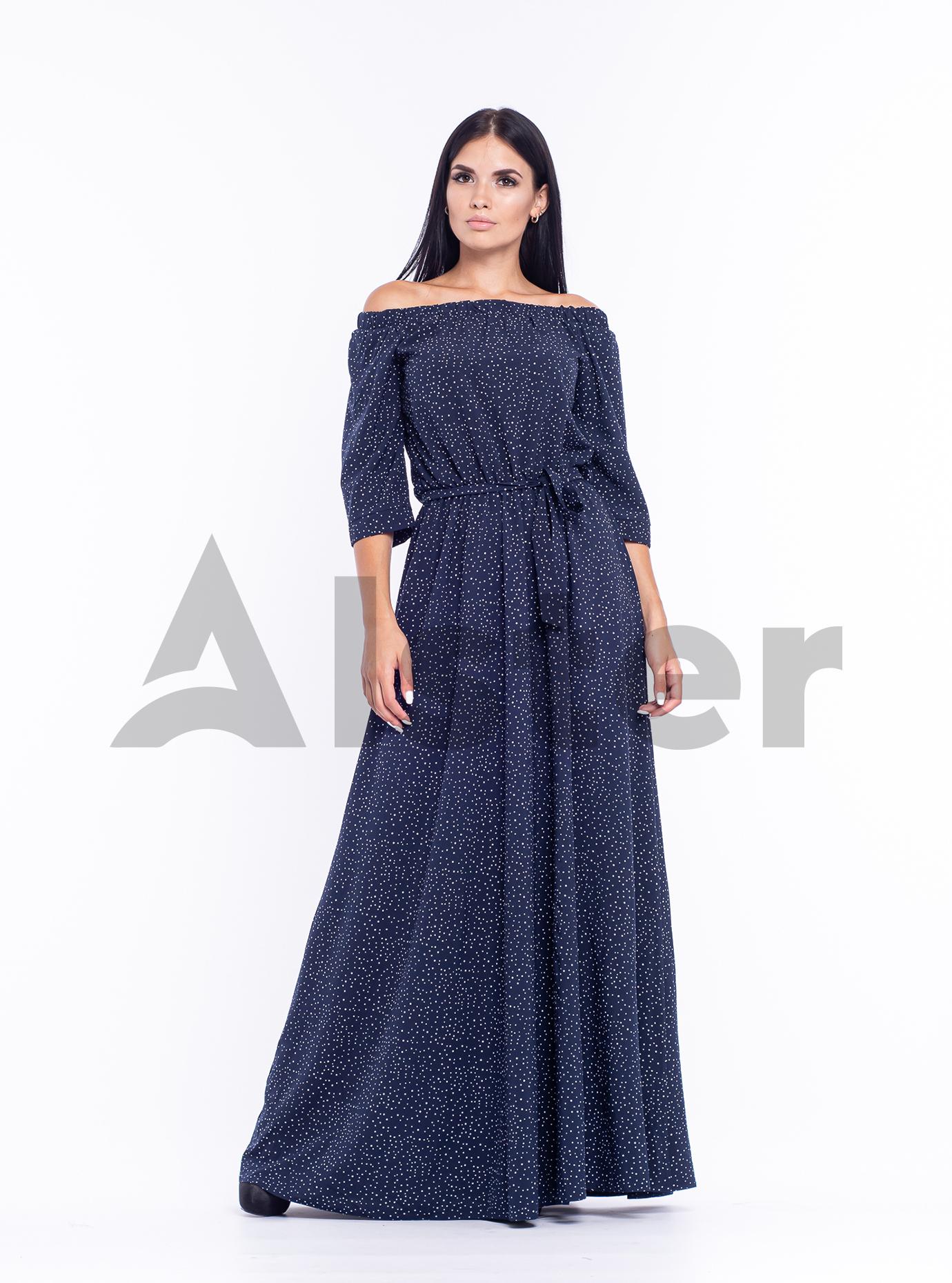 Платье длинное Матрена Тёмно синий 44 (04-8987991): фото - Alster.ua
