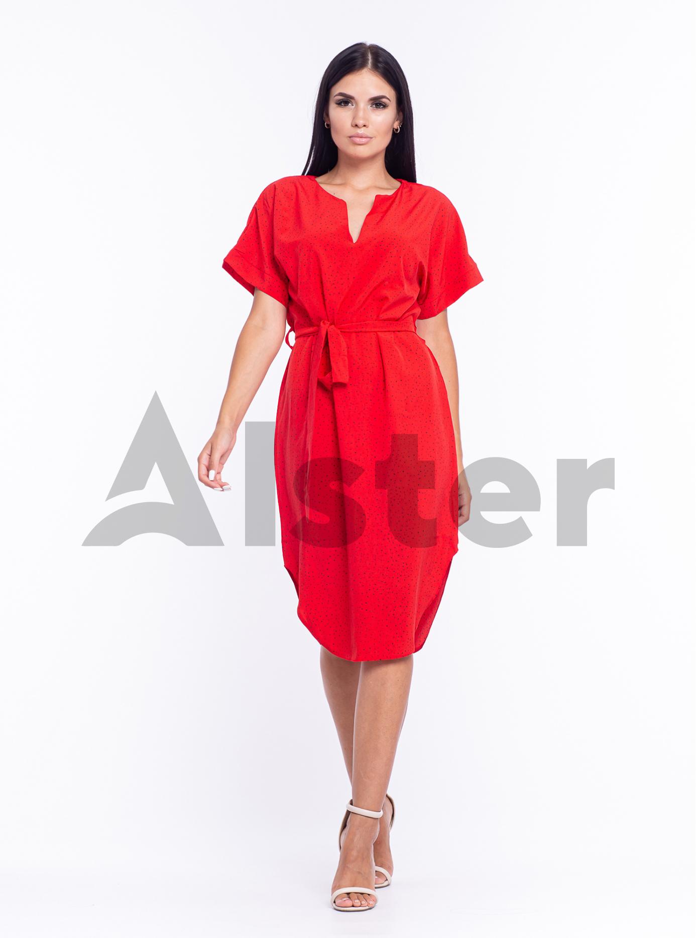 """Платье """"Нюр"""" Красный S (04-8988000): фото - Alster.ua"""