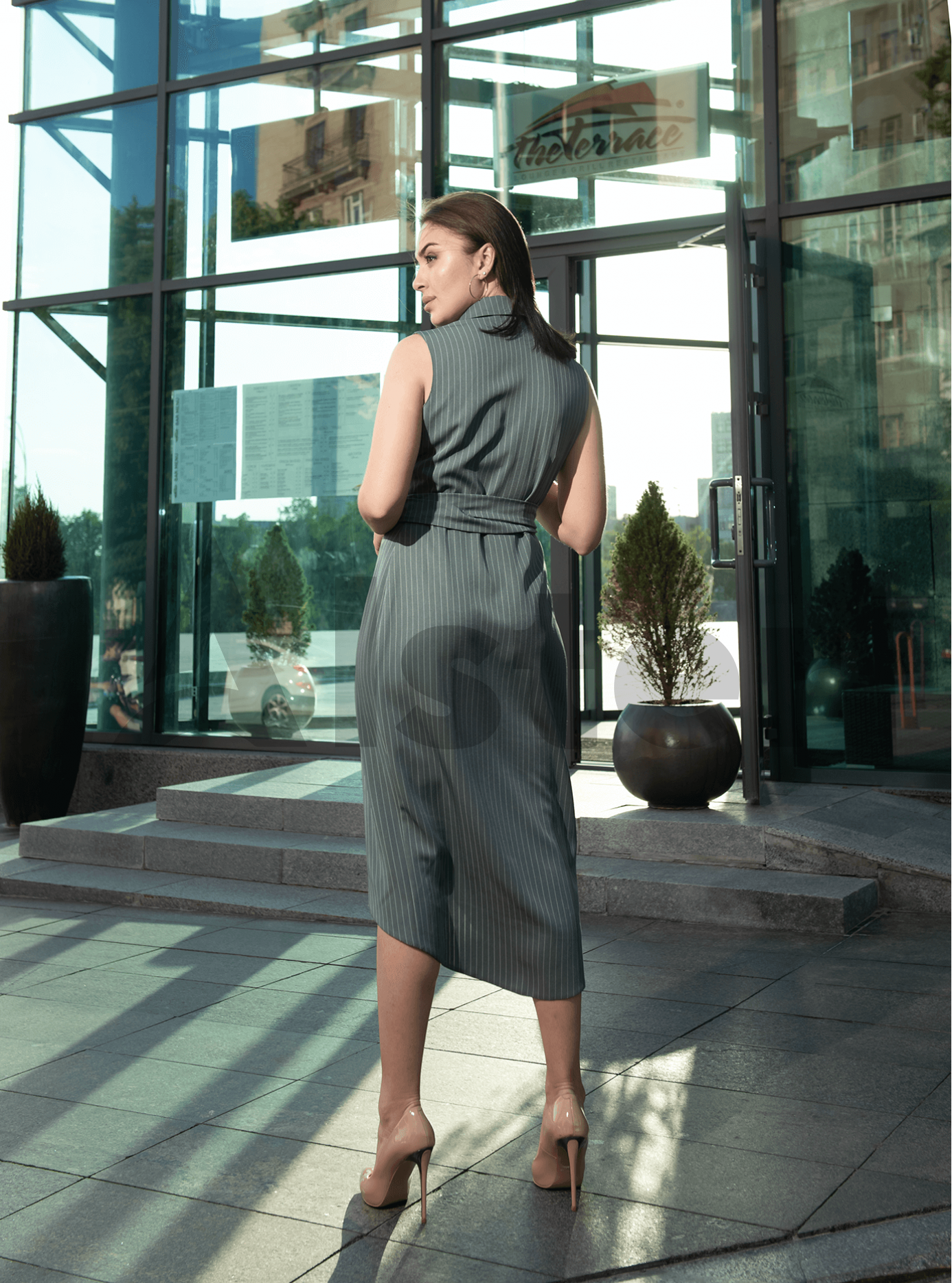 Платье Ping Хаки M (04-8987895): фото - Alster.ua