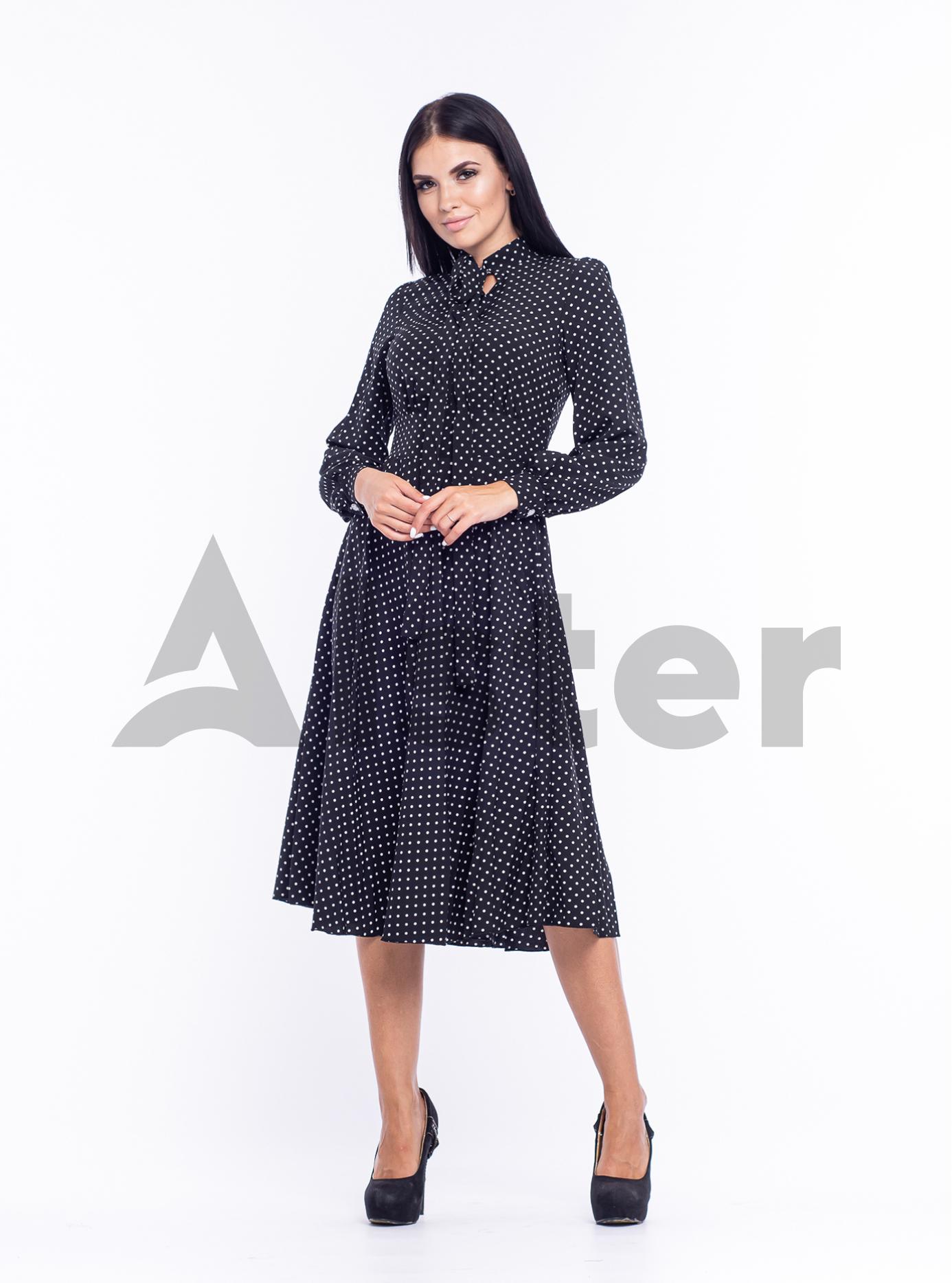 Платье приталенное Чёрный 48 (04-8987976): фото - Alster.ua