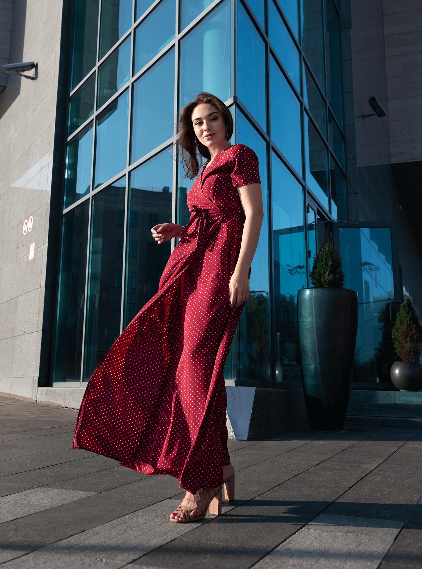 Платье Ruta Бордо S-M (04-8987898): фото - Alster.ua