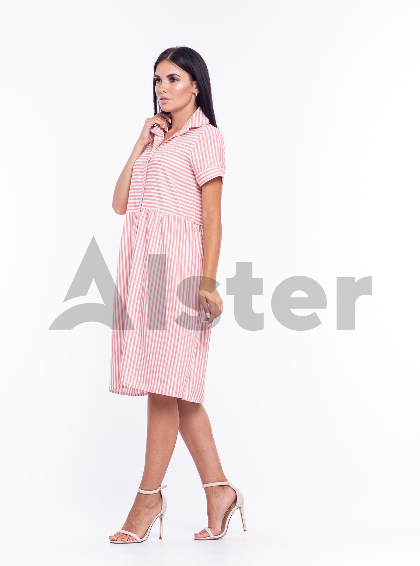 """Платье-рубашка """"Ритм"""" Розовый M (04-8987998): фото - Alster.ua"""