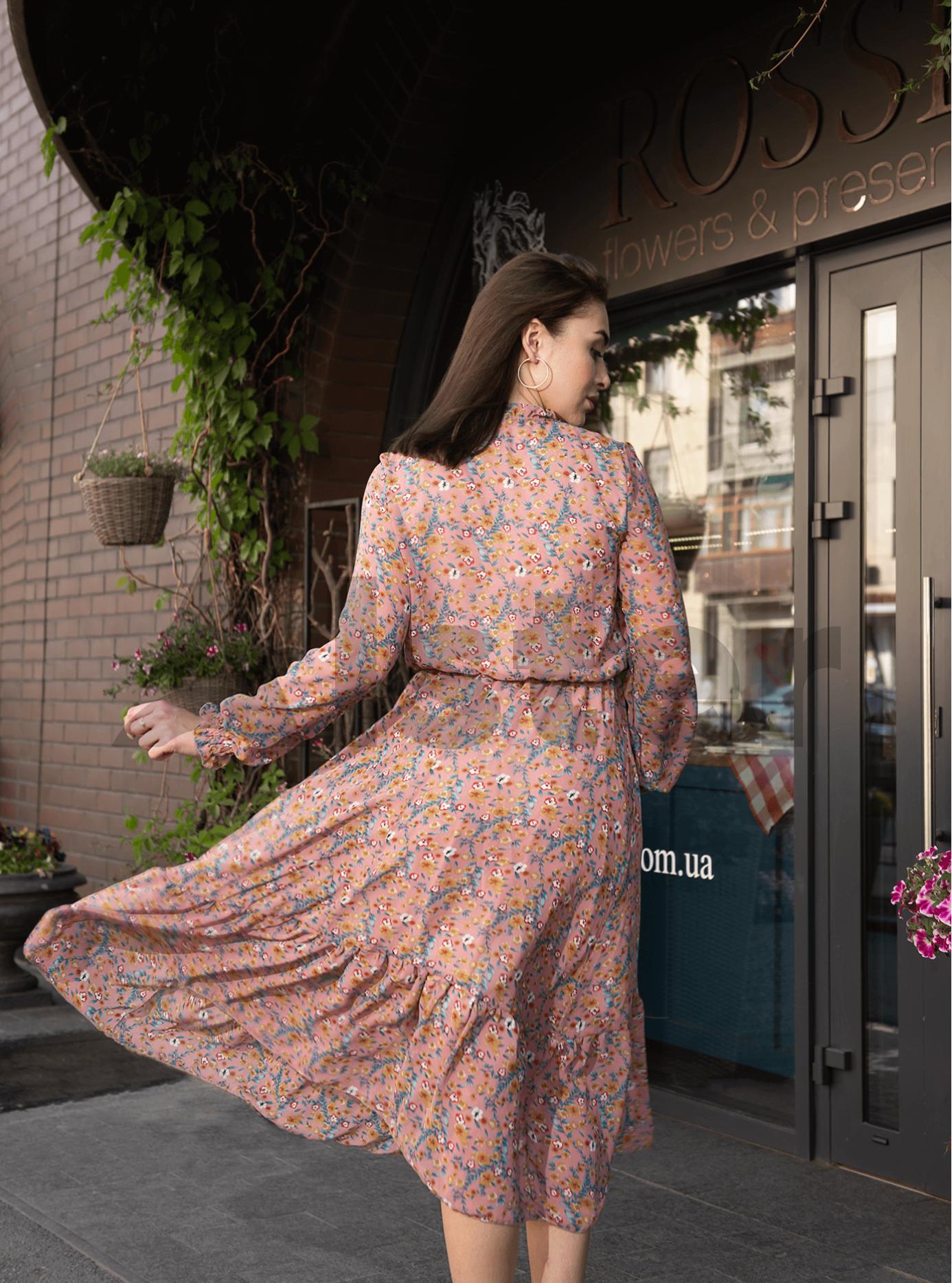 Платье Shifon long Розовый M (04-8987902): фото - Alster.ua