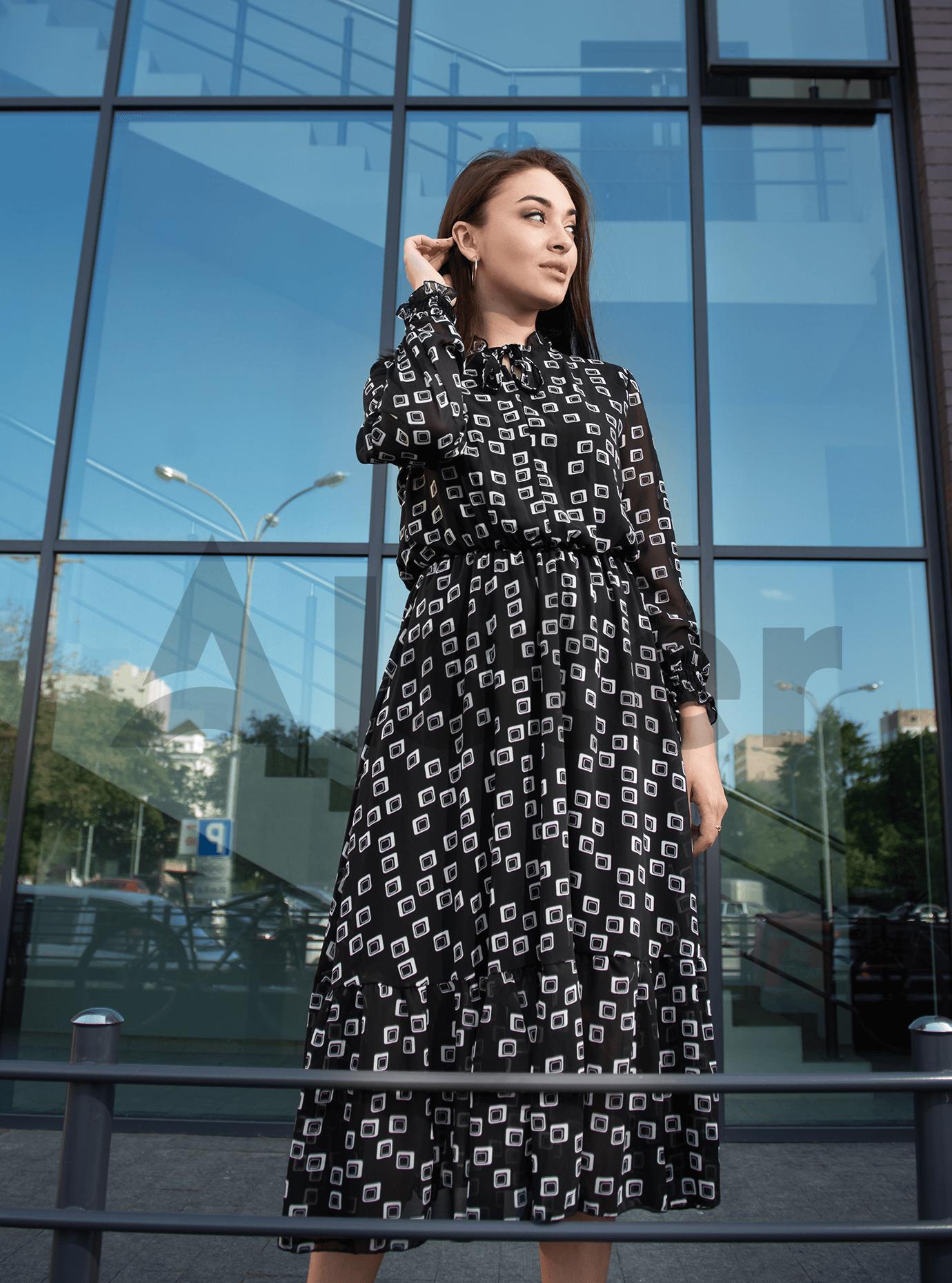 Платье Shifon long Чёрный M (04-8987904): фото - Alster.ua