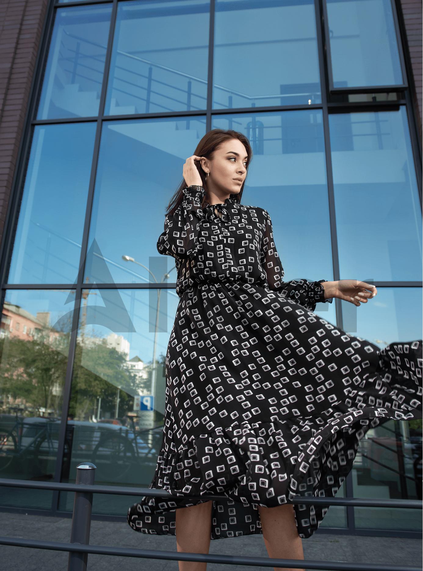 Платье Shifon long Чёрный S (04-8987903): фото - Alster.ua