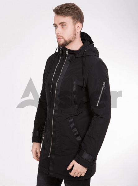 Куртка демісезонна чоловіча з капюшоном