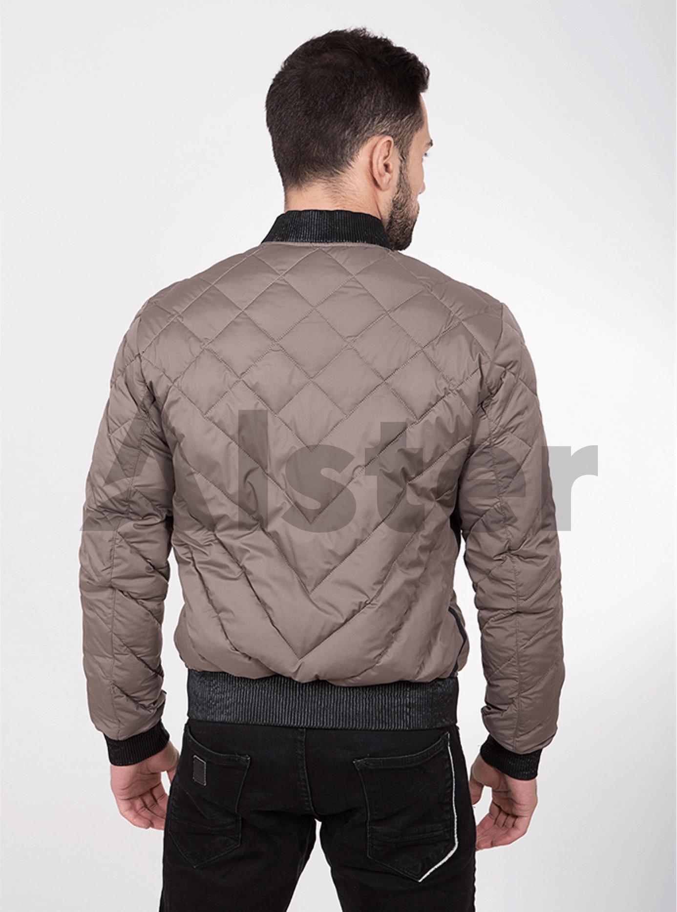 Куртка мужская демисезонная стёганая Бежевый 46 (02-MC18043): фото - Alster.ua