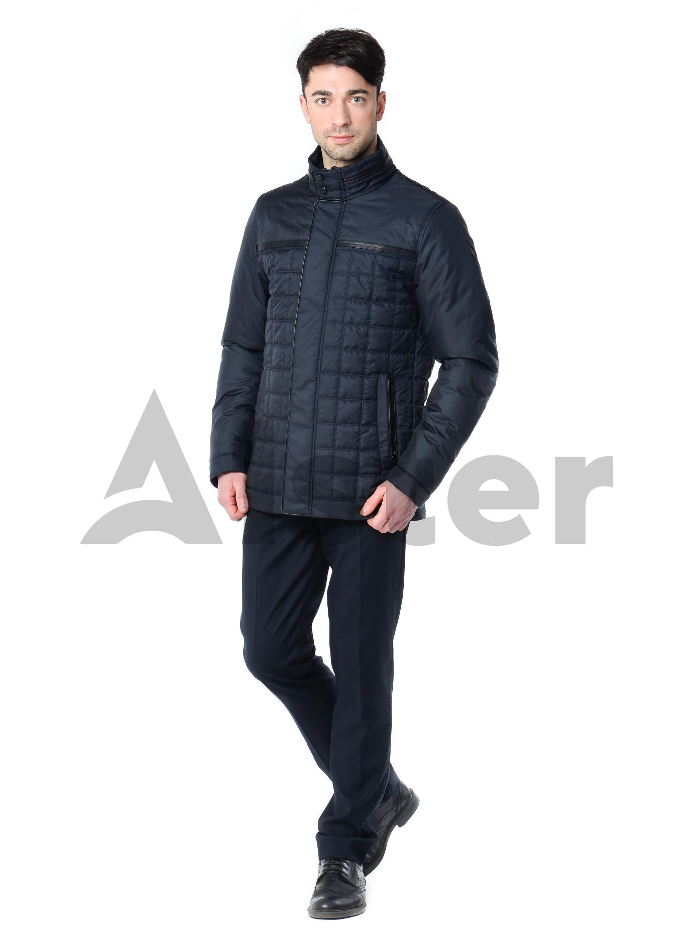 Куртка мужская демисезонная стёганая Тёмно-синий 46 (02-MT19090): фото - Alster.ua