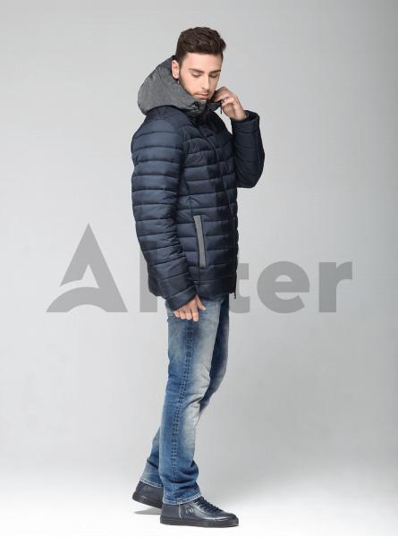 Зимова чоловіча куртка з капюшоном