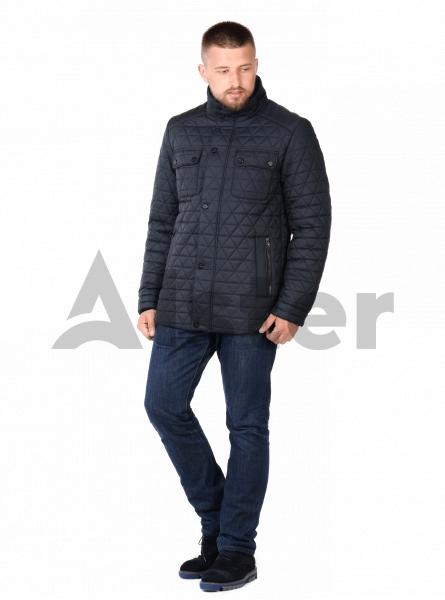 Куртка чоловіча зимова вільного крою з хутром