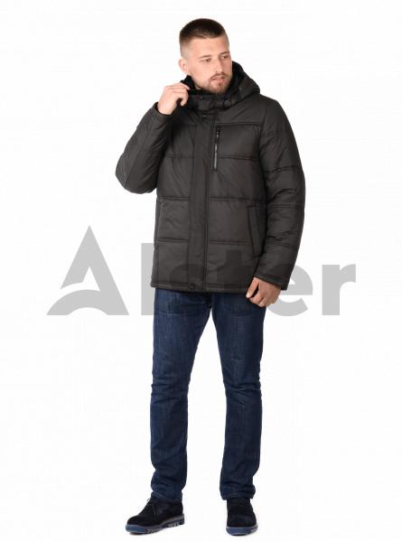 Куртка чоловіча зимова спортивна з капюшоном
