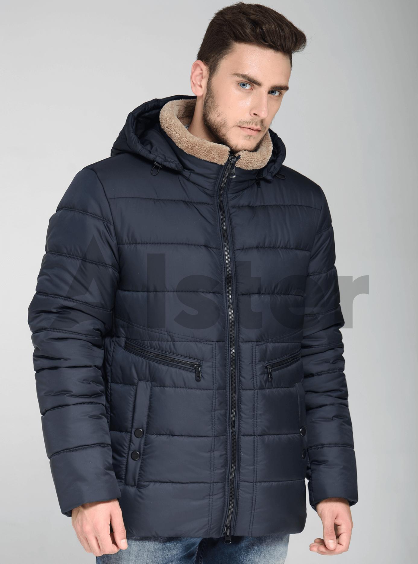 Зимняя мужская куртка с карманами Хаки 48 (02-MT19274): фото - Alster.ua
