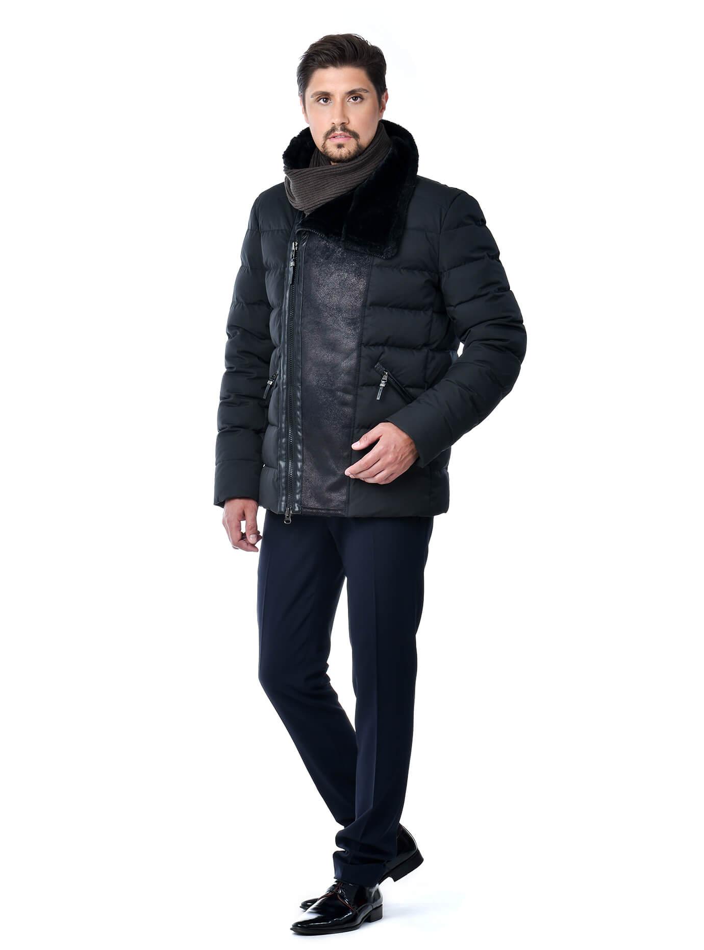 Зимняя мужская куртка Чёрный 46 (02-MC19196): фото - Alster.ua