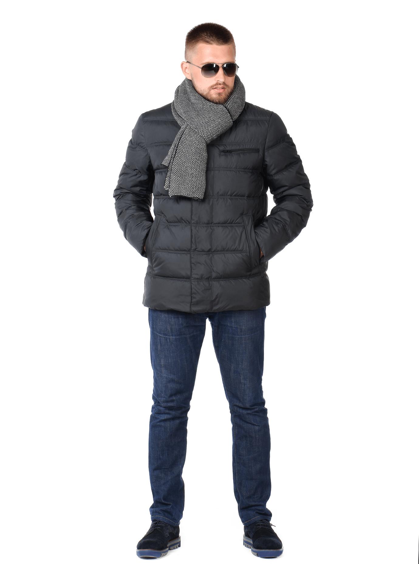 Зимняя мужская куртка Чёрный 46 (02-MC19239): фото - Alster.ua