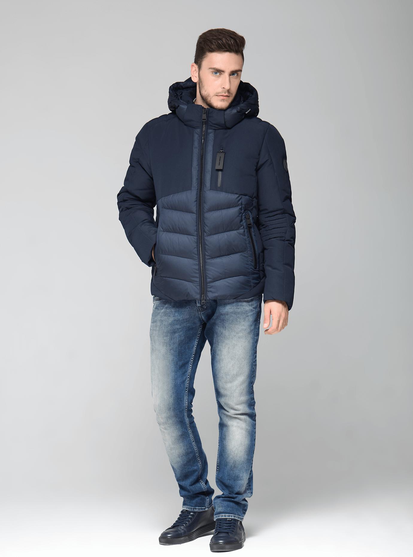 Зимняя мужская куртка Чёрный 46 (02-MC19199): фото - Alster.ua