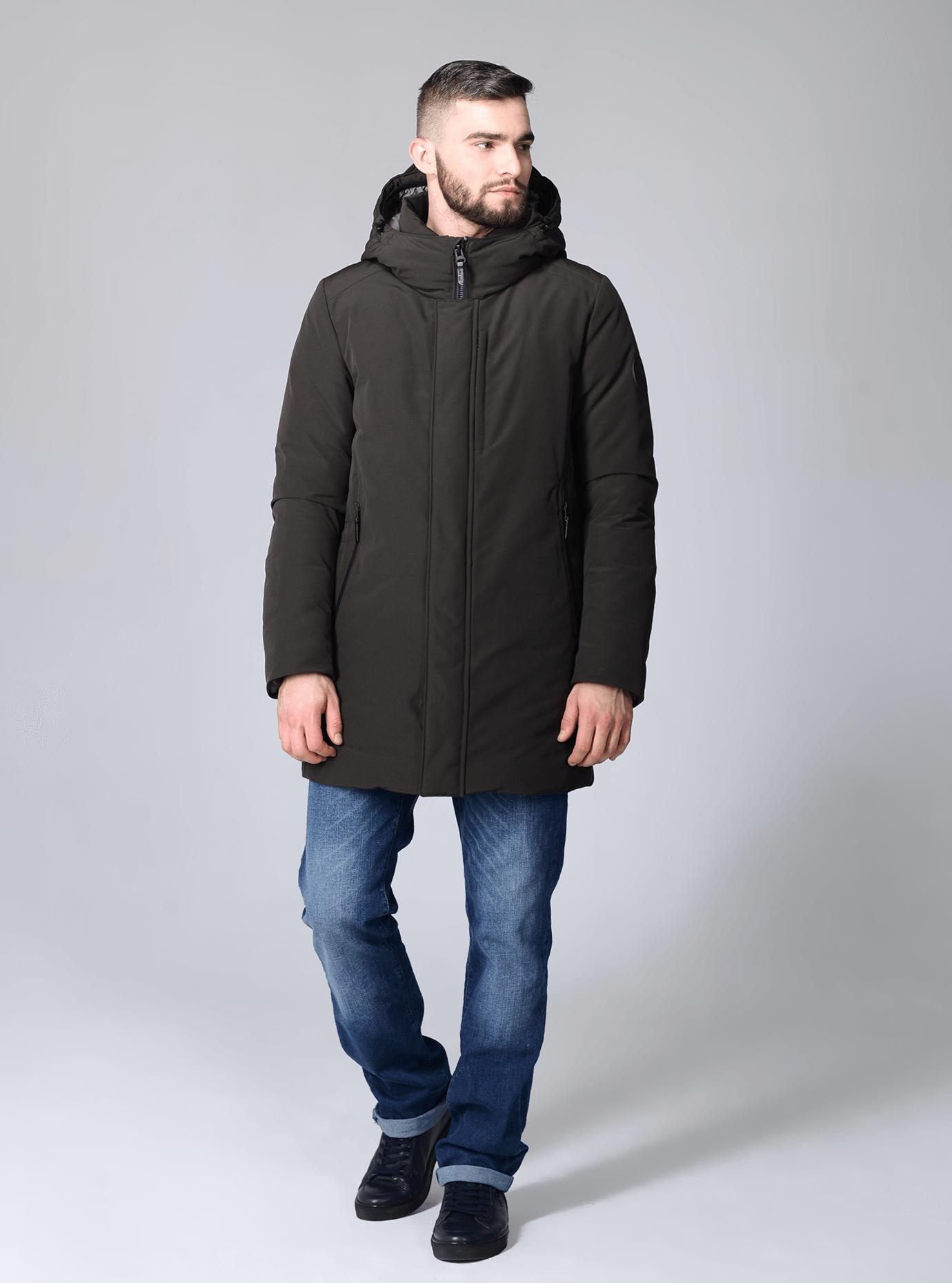 Зимняя мужская куртка Чёрный 46 (02-MC19233): фото - Alster.ua