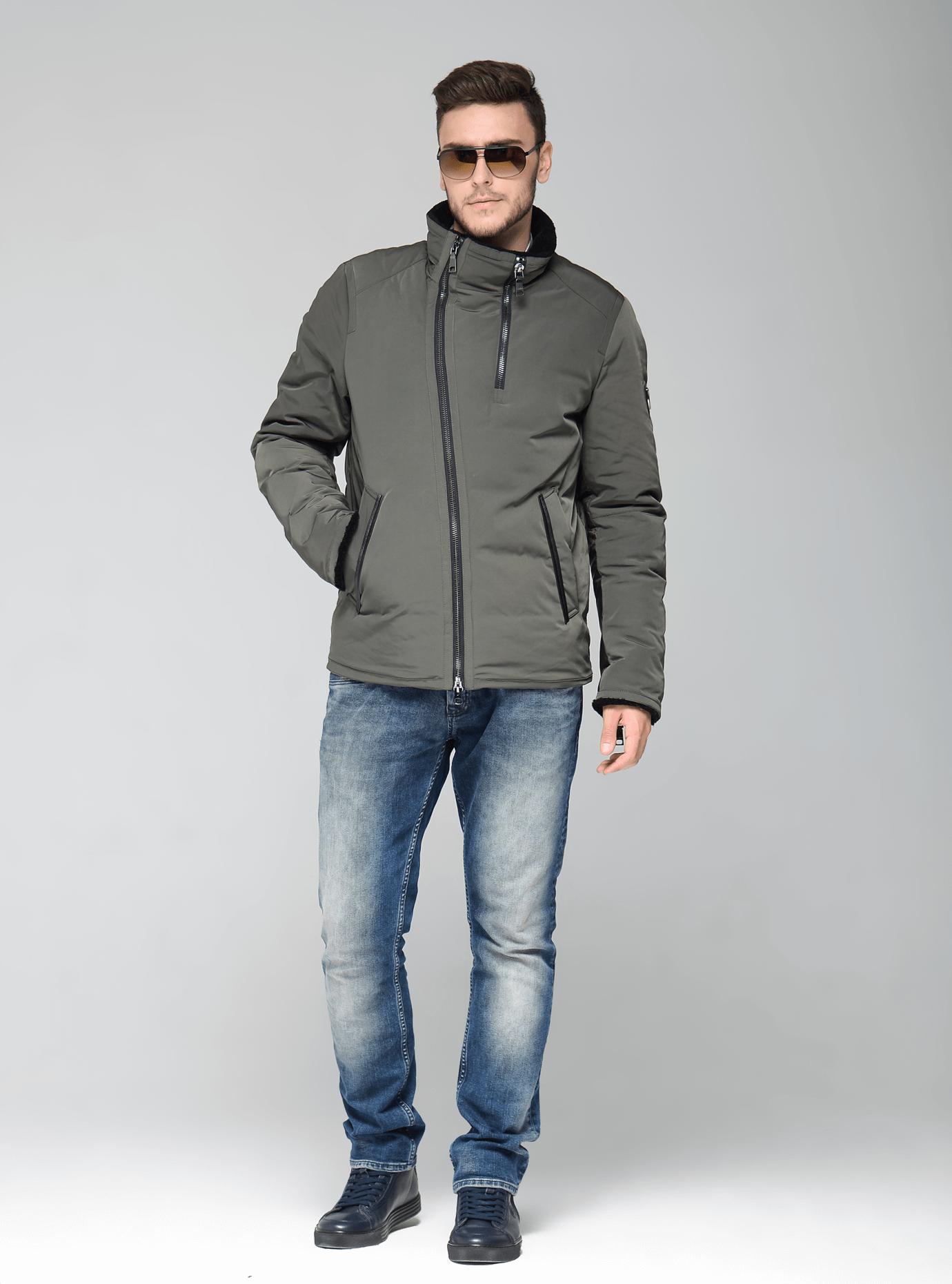 Зимняя мужская куртка Чёрный 46 (02-MC19204): фото - Alster.ua