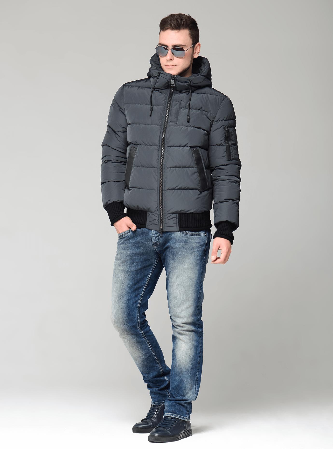 Зимняя мужская куртка Чёрный 46 (02-MC19206): фото - Alster.ua