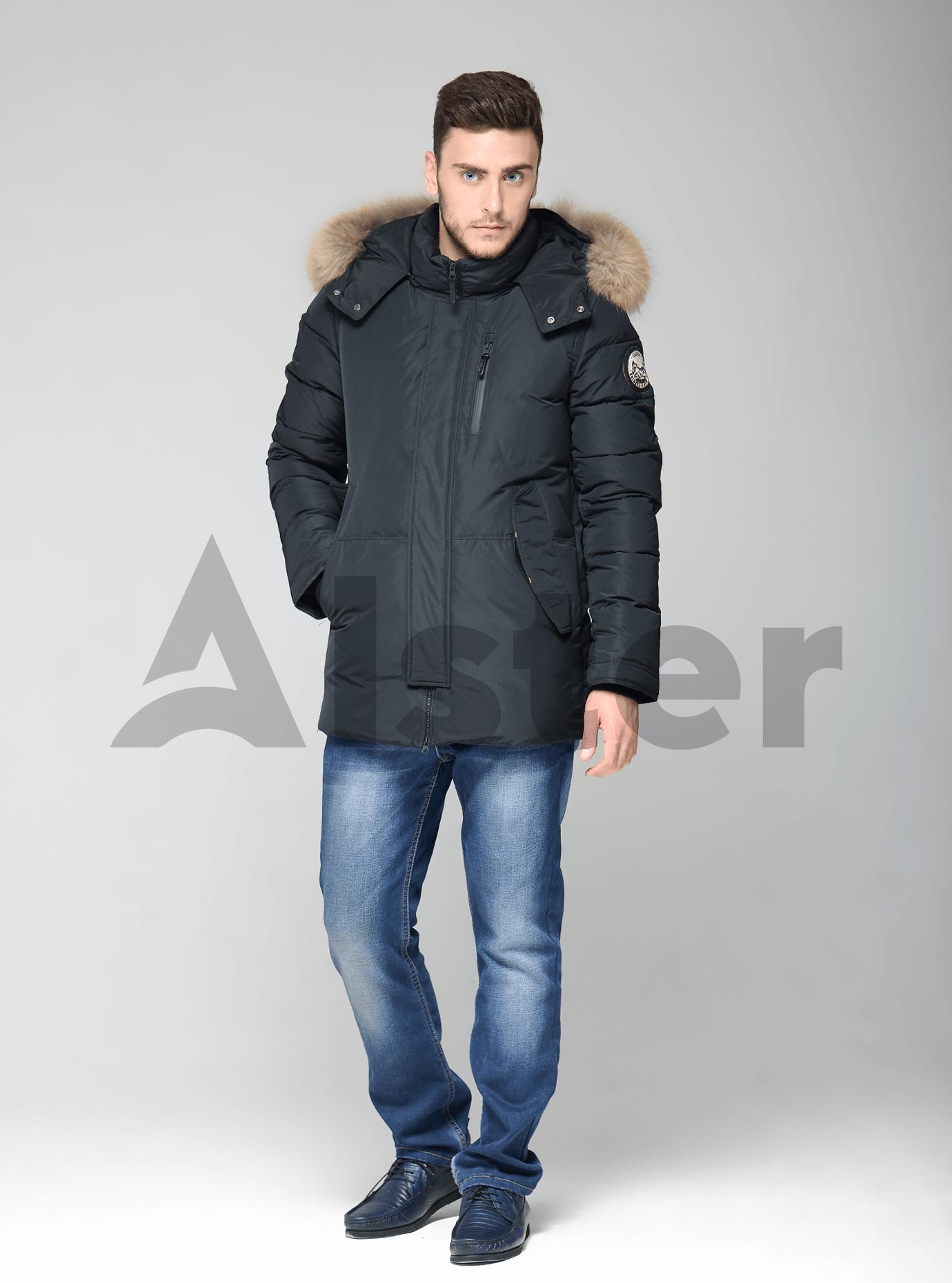 Зимняя мужская куртка Чёрный 46 (02-MC19219): фото - Alster.ua