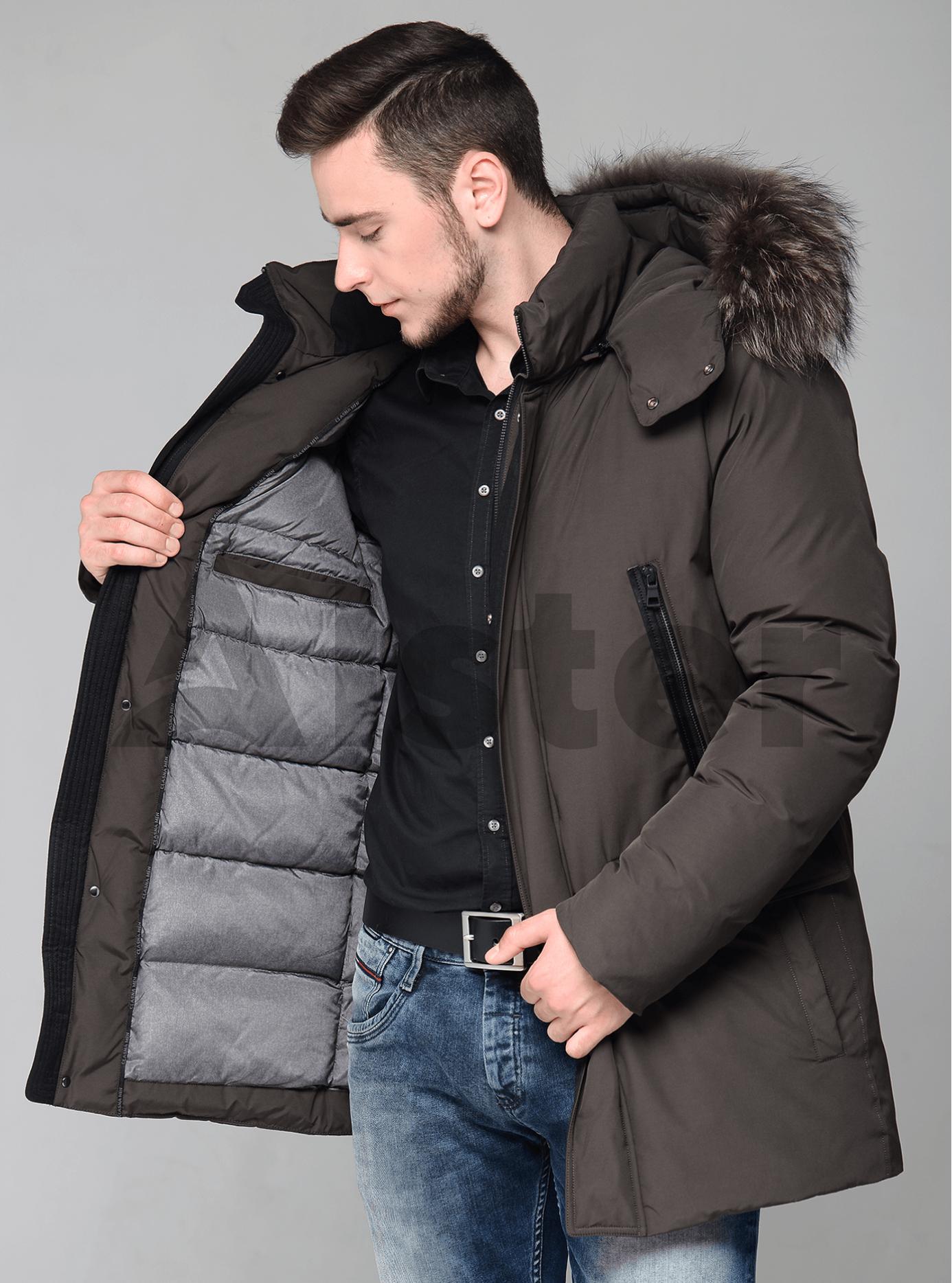 Зимняя мужская куртка Коричневый 48 (02-MC19118): фото - Alster.ua
