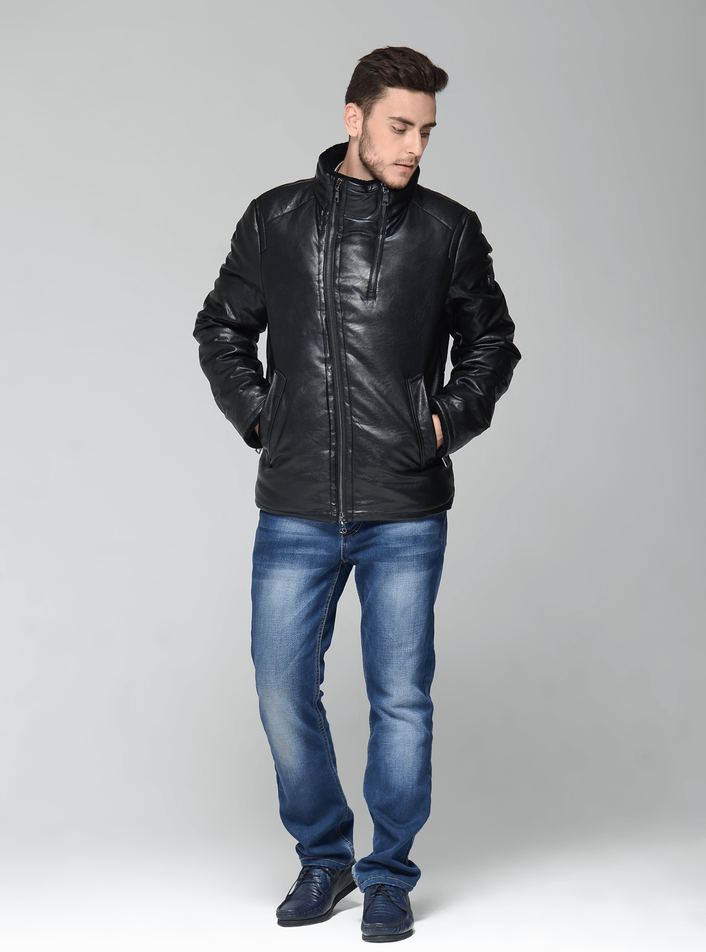 Зимняя мужская куртка Чёрный 46 (02-MC19218): фото - Alster.ua