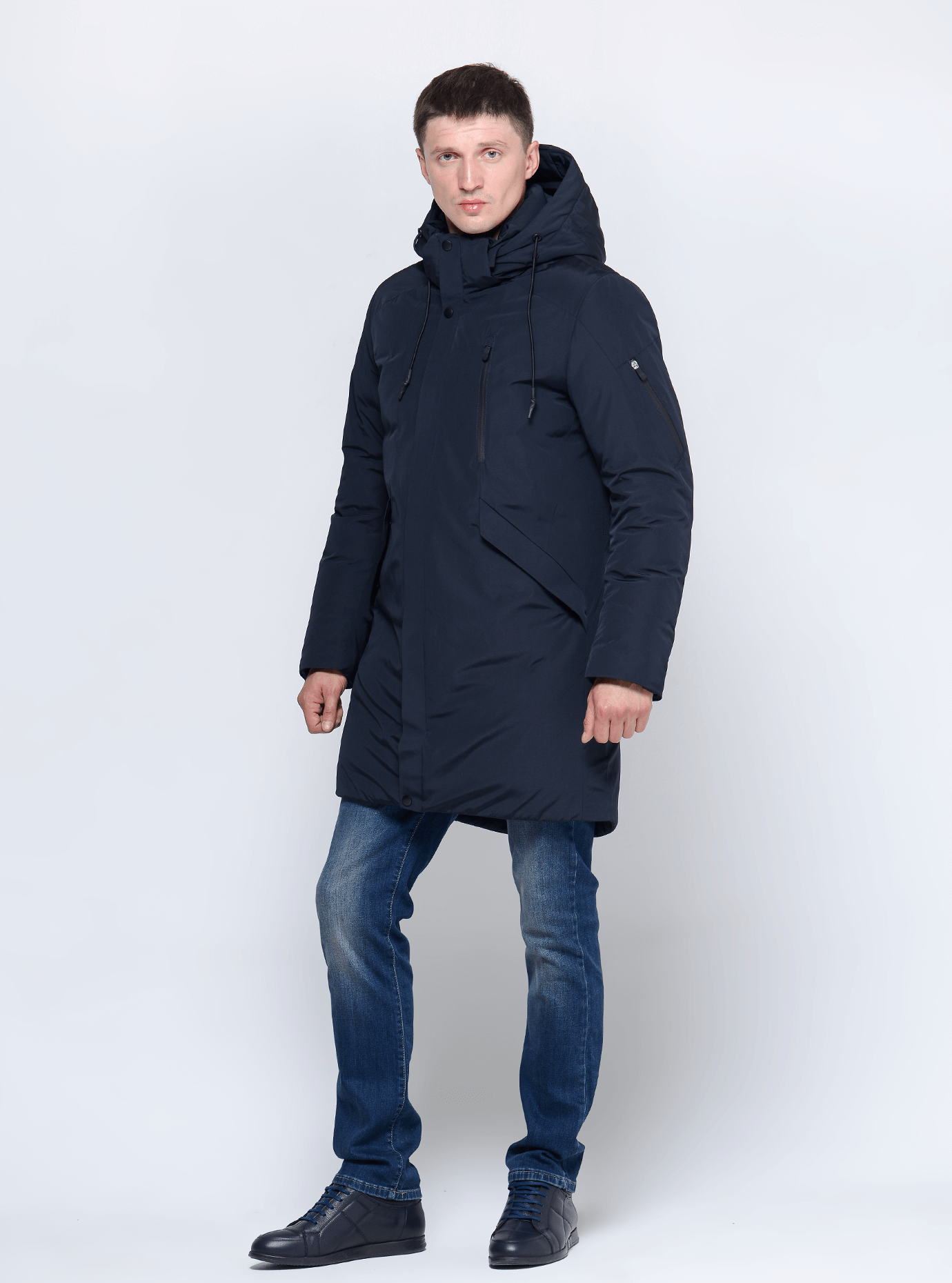 Зимняя мужская куртка Чёрный 46 (02-MC19234): фото - Alster.ua