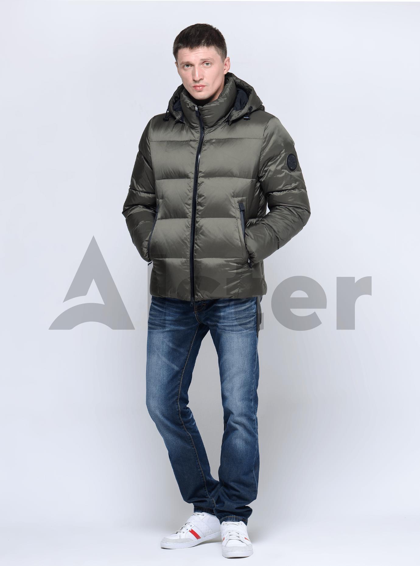 Куртка мужская зимняя Серый 46 (02-MC19052): фото - Alster.ua
