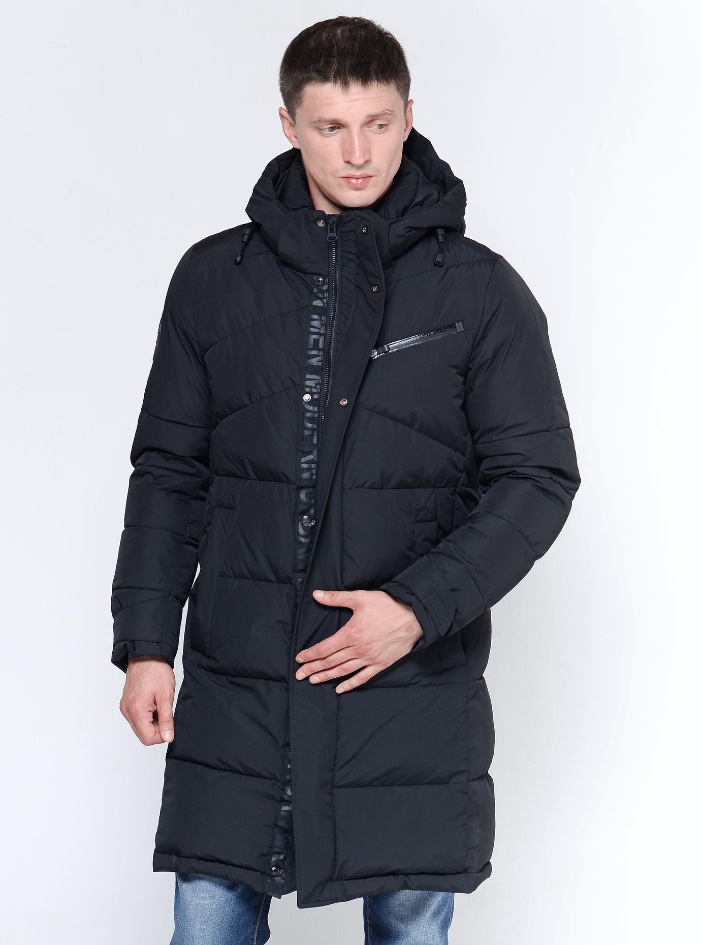 Зимняя мужская куртка Чёрный 46 (02-MC19235): фото - Alster.ua